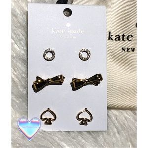 kate spade Jewelry - Authentic Kate Spade ♠️NWT earring set